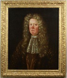 86: 18th Century English portrait of Richard Chesney