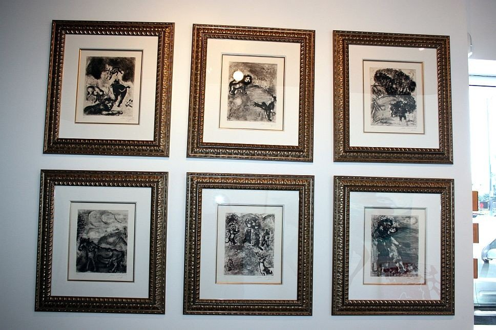 4: Chagall Etching - Hand Signed -Fables of La Fontaine