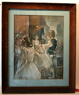 5: Ballet, Pastel, Original, 1939 - by Carl A.