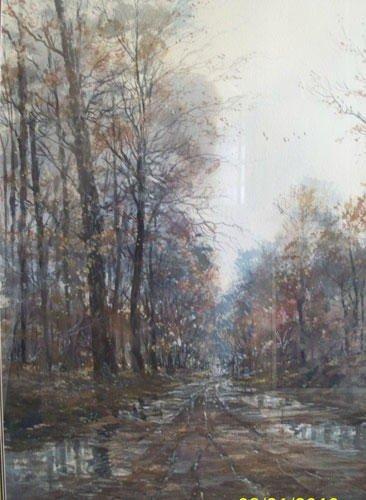 9: Michael Schofield -Watercolor - Original -