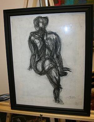 17: Original Artwork by artist TOVA GALGUT - Drawing Nu