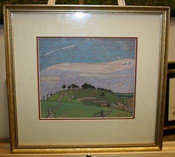 5B: Eric Robertson (Scottish) b 1887 - 1941 - Pastel -