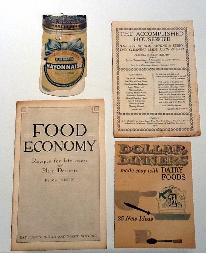 12: Cookbooks! = Rare! -Vintage from the 1920's