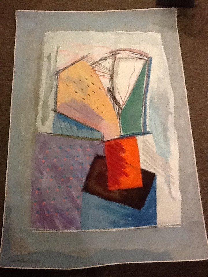 6D: Calman Shemi - Soft Painting - Original - Signed