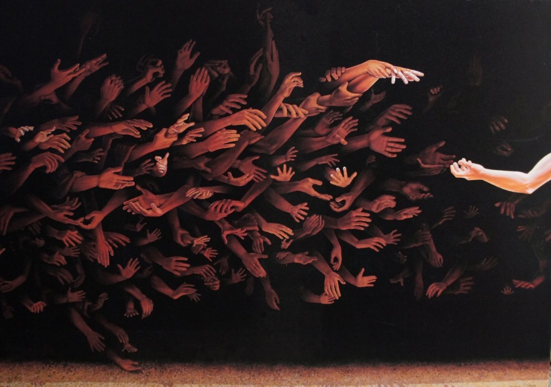 """20: Vernon Finney: Limited Edition Giclee """"Reach"""""""