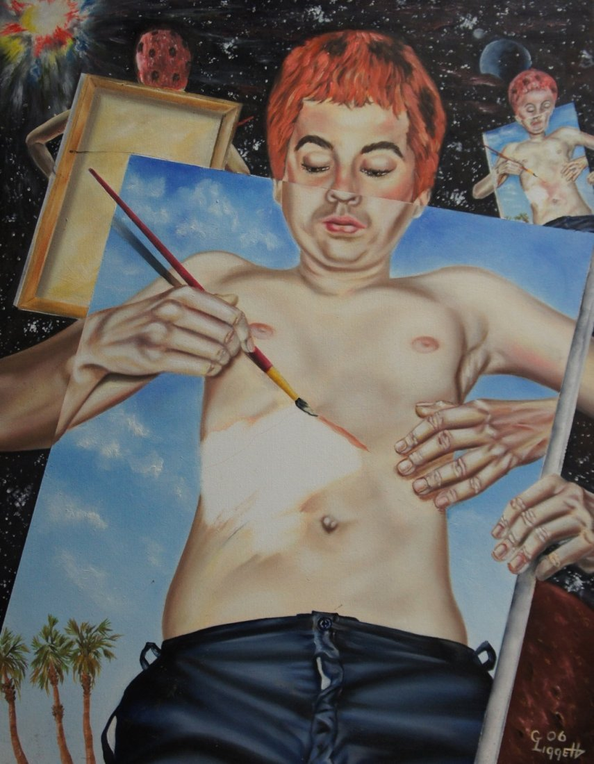 23: Liggett: Original Painting