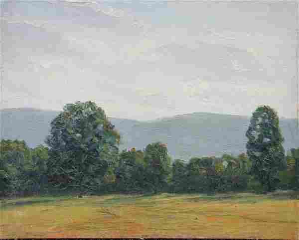 39: Herbert R. Drury: Original Oil Landscape painting