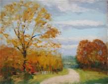 40 Herbert R Drury Original Oil Landscape painting