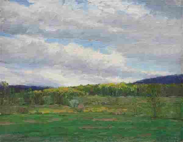 Herbert R. Drury: Original Oil Landscape painting