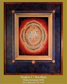 Philip Kirkland: RARE Original Oils : 7 Chakras (1978)