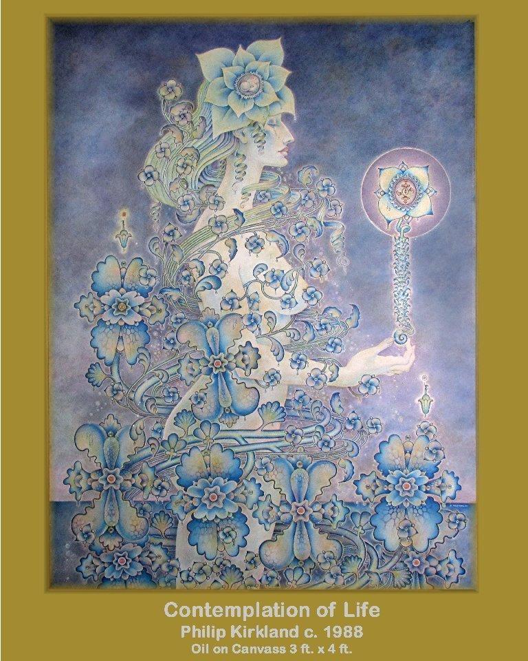 "Philip Kirkland: RARE ""Contemplation of Life"" (1988)"