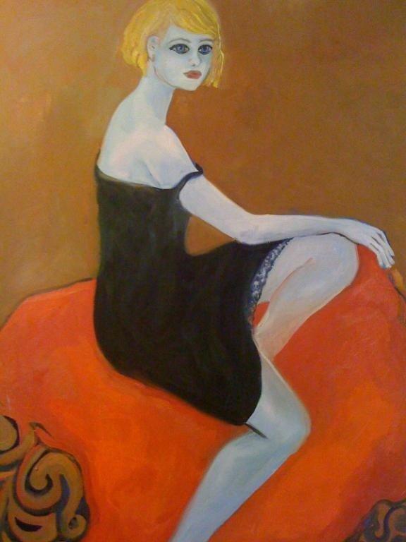 4: Blue woman, VIRUCHY DELGADO 2003