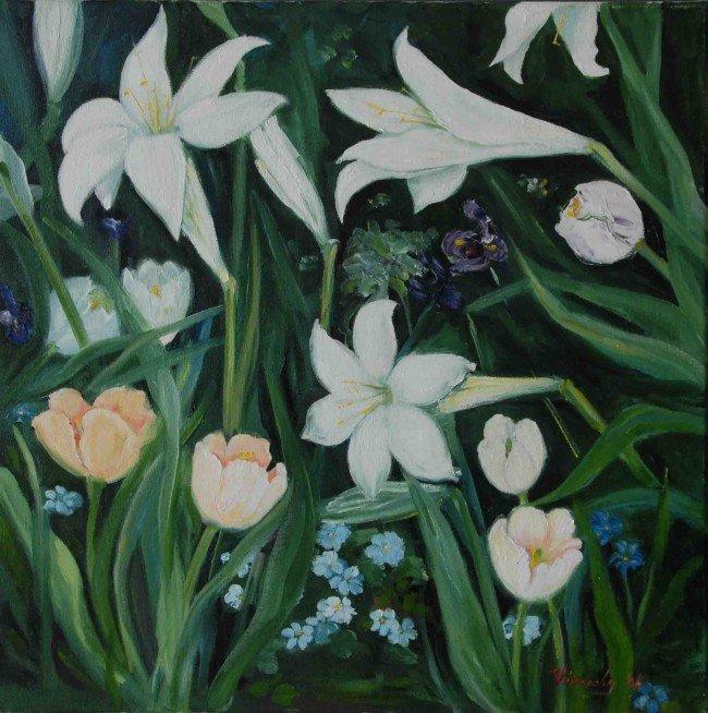 5: Trumpet Lilies, VIRUCHY DELGADO 2005