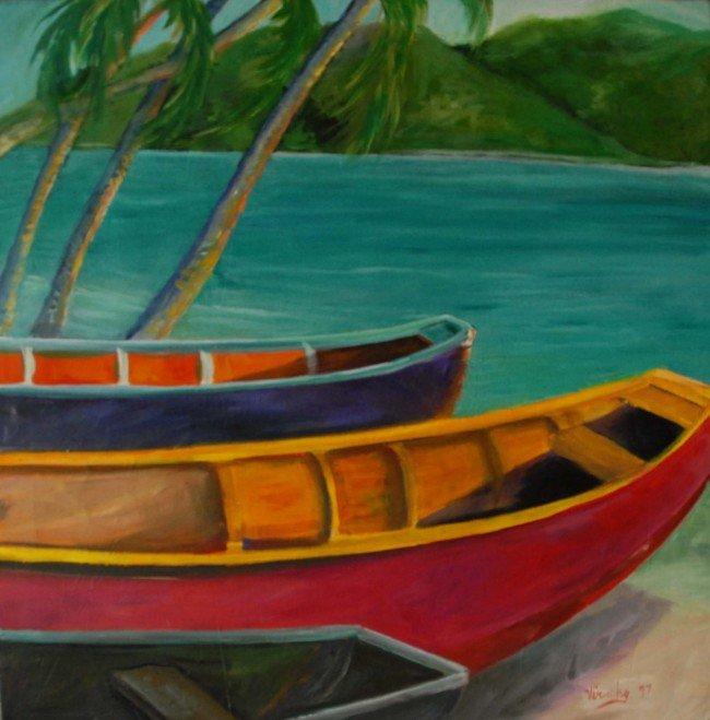 6: Tropical scene, VIRUCHY DELGADO 2004