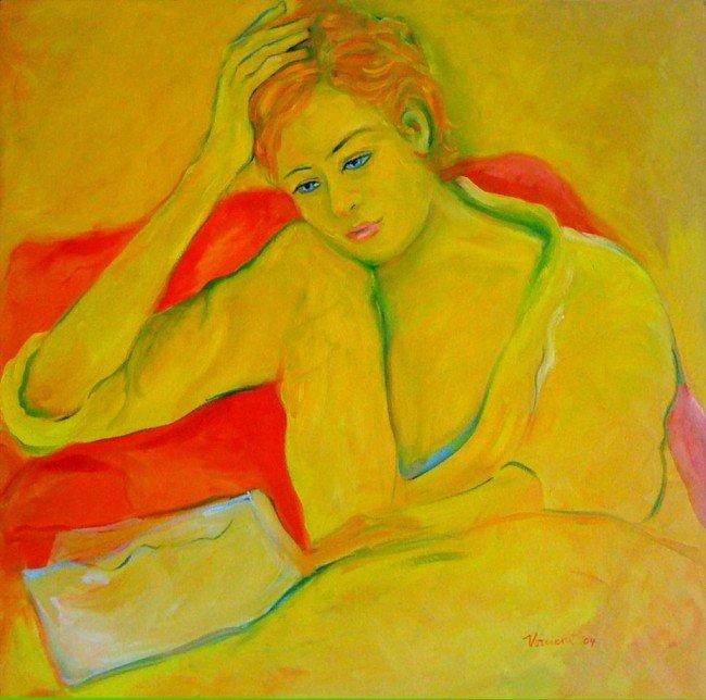 15: Reading Woman, VIRUCHY DELGADO 2004