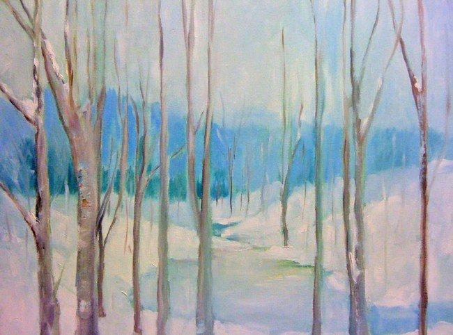 22: Frozen Landscape, VIRUCHY DELGADO 2006