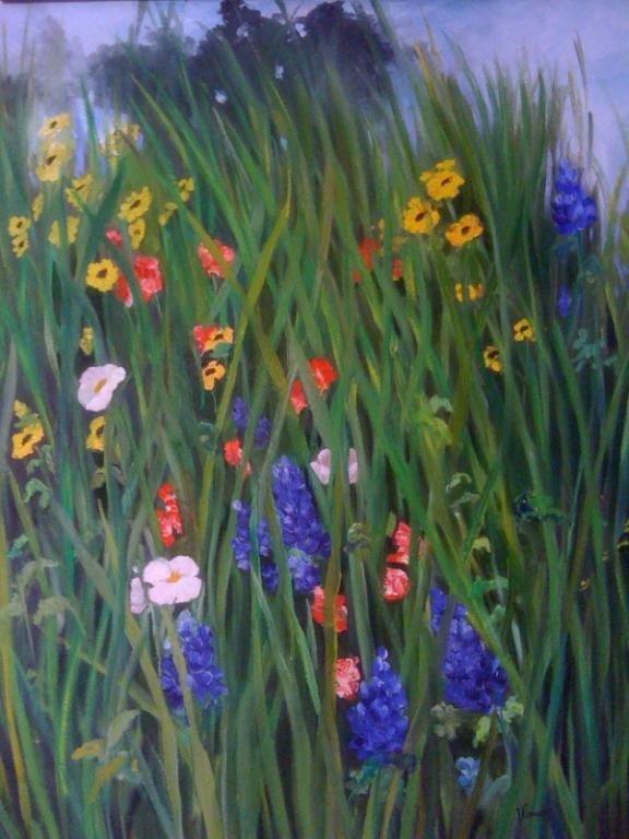 23: Texas Wildflowers, VIRUCHY DELGADO 1996