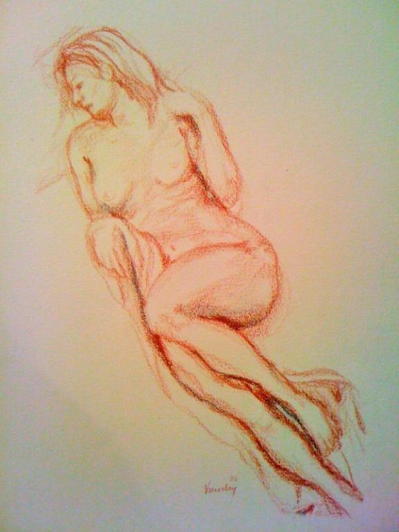28: Reclining Nude, VIRUCHY DELGADO 2008