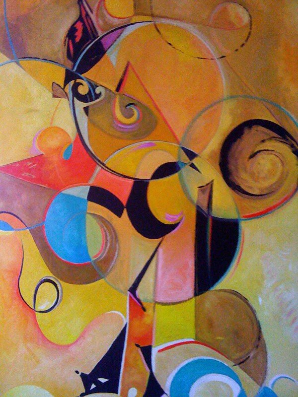 29: Abstract in yellow: VIRUCHY DELGADO 2009