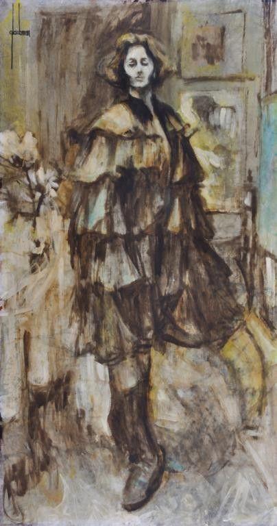 EDNA GLAUBMAN (American 1919-1986)