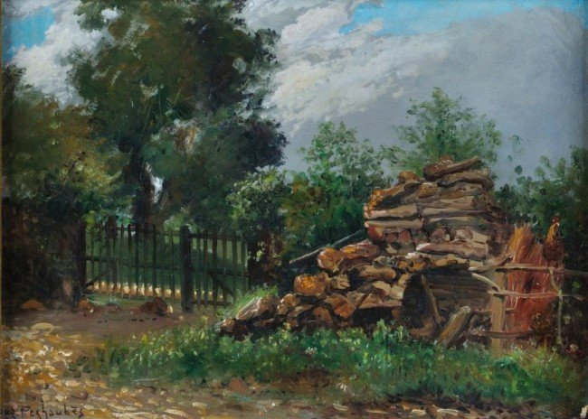12: EUGENE PECHAUBES (French 1890-1967)