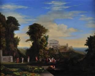 LEEDS (Italian 19th Century)