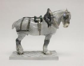 Royal Copenhagen Porcelain Draft Horse