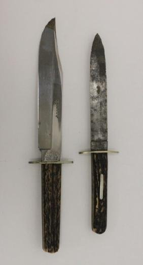2-Harrison Brothers & Alfred Williams Bowie Knifes