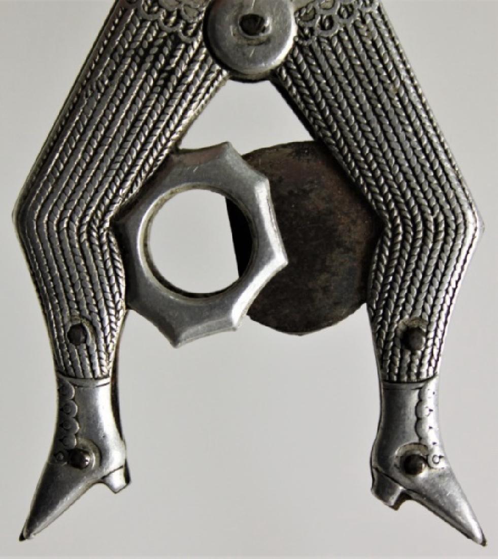 Victorian Risque Novelty Ladies Legs Cigar Cutter - 6