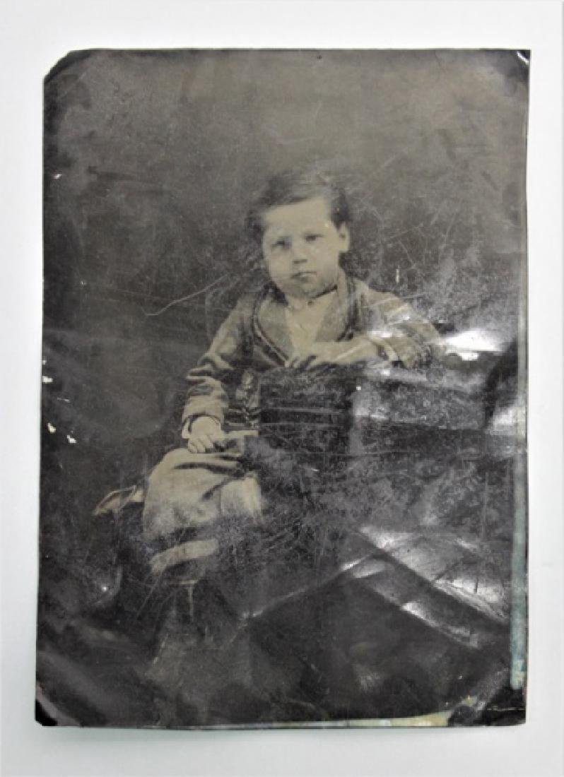 (10) Pcs 19th C Tintypes & Daguerreotype Photos - 2