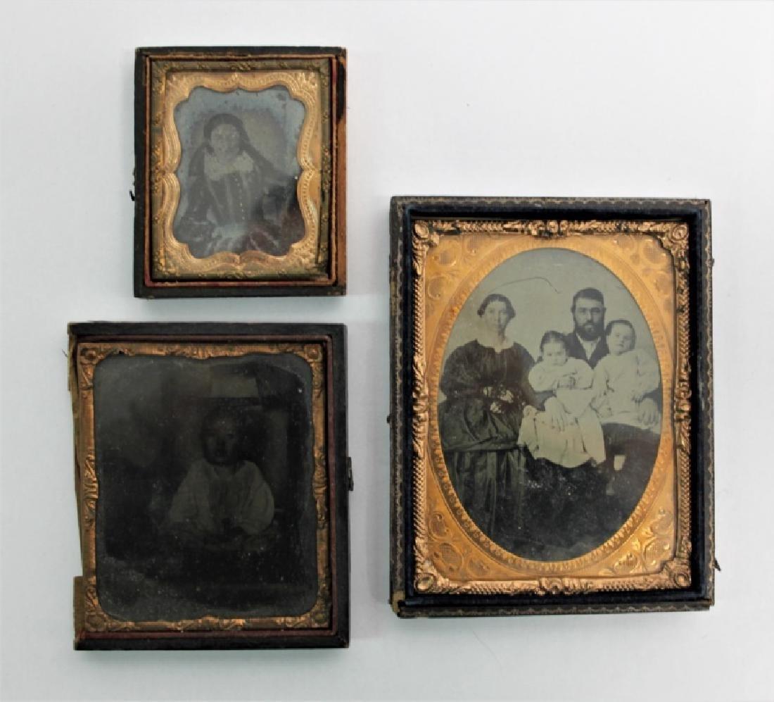 (10) Pcs 19th C Tintypes & Daguerreotype Photos - 4