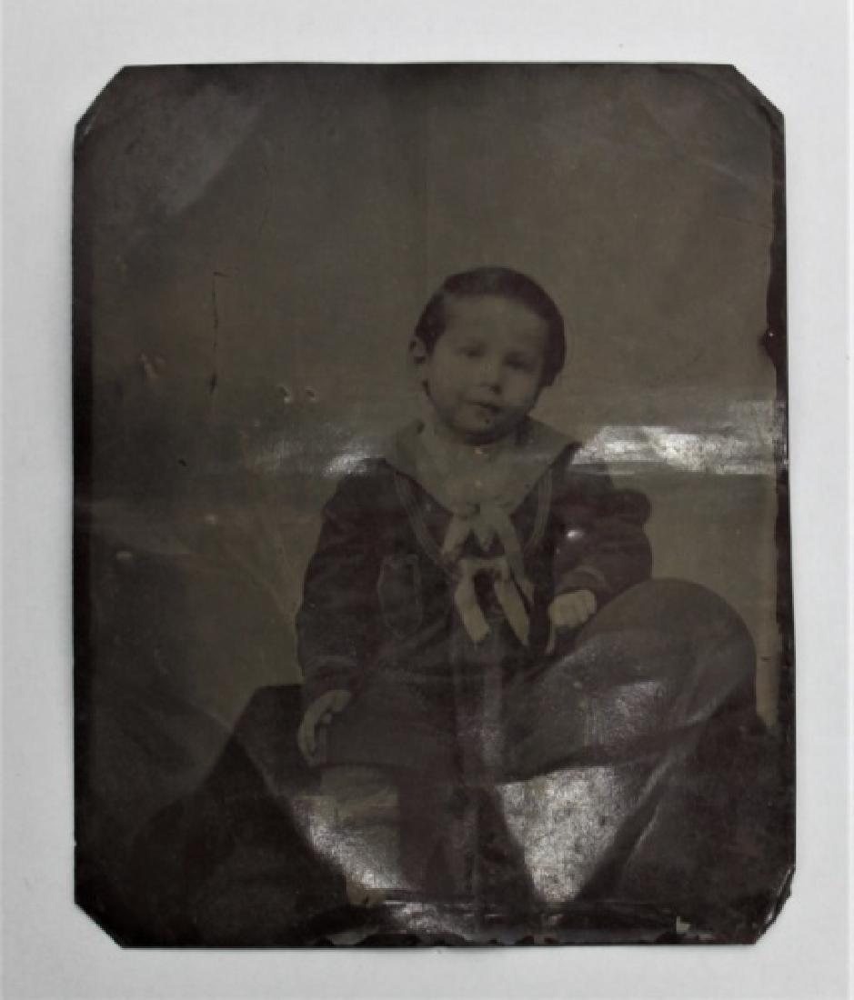 (10) Pcs 19th C Tintypes & Daguerreotype Photos - 7