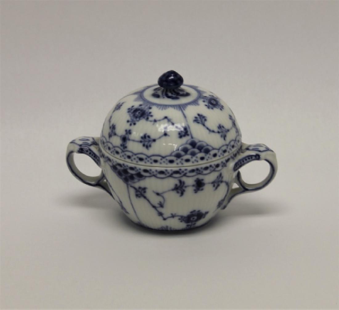 "(6) Pcs Royal Copenhagen ""Blue Fluted Lace"" China - 5"