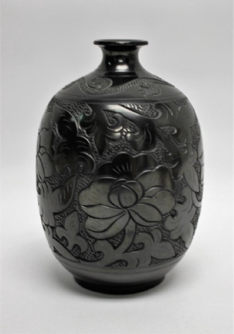 (4)Pcs Acoma, Pueblo, Jemez & Santa Clara Pottery - 2