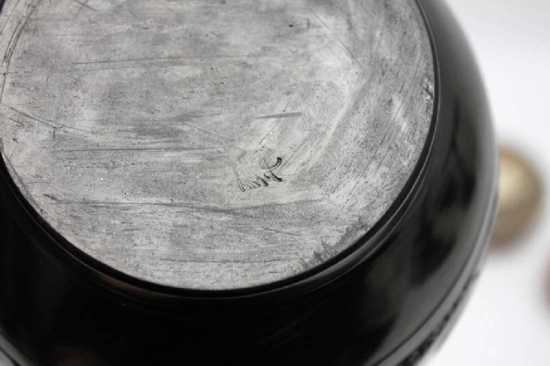 (4)Pcs Acoma, Pueblo, Jemez & Santa Clara Pottery - 3