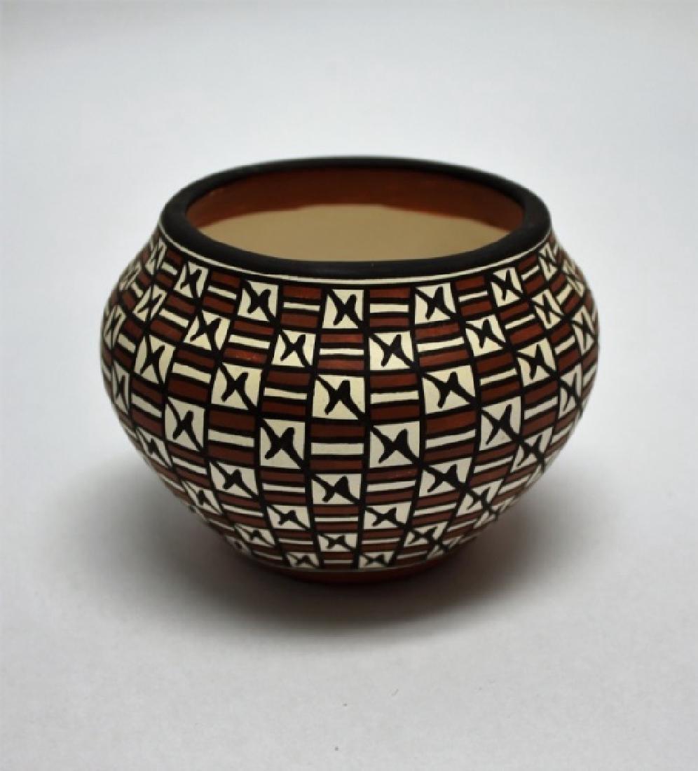 (4)Pcs Acoma, Pueblo, Jemez & Santa Clara Pottery - 4