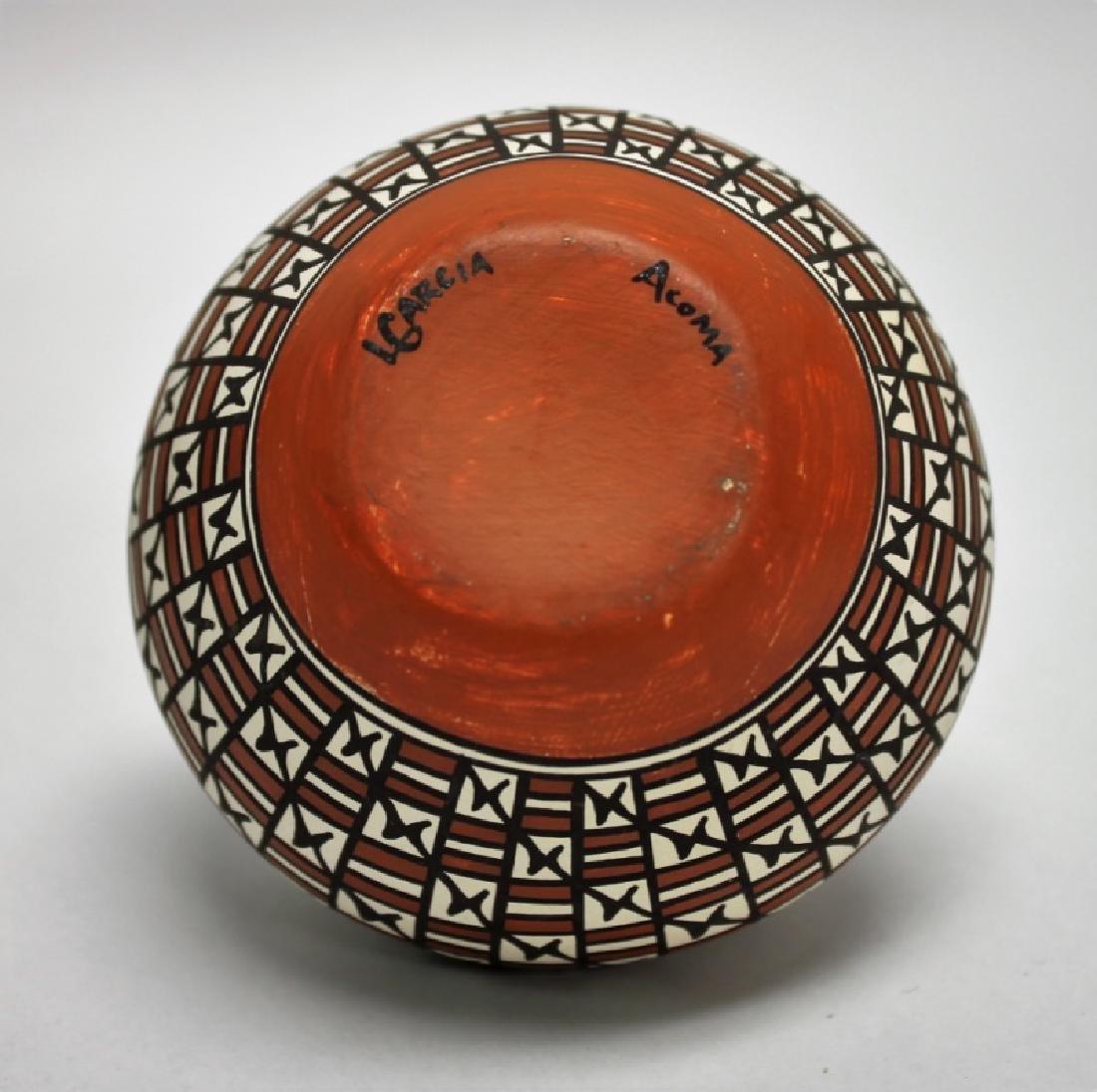 (4)Pcs Acoma, Pueblo, Jemez & Santa Clara Pottery - 5