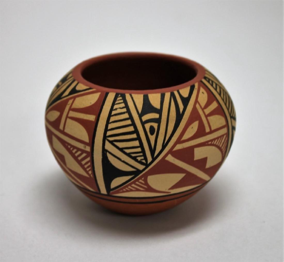 (4)Pcs Acoma, Pueblo, Jemez & Santa Clara Pottery - 6