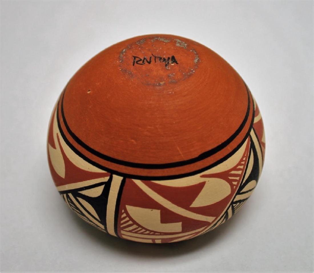 (4)Pcs Acoma, Pueblo, Jemez & Santa Clara Pottery - 7