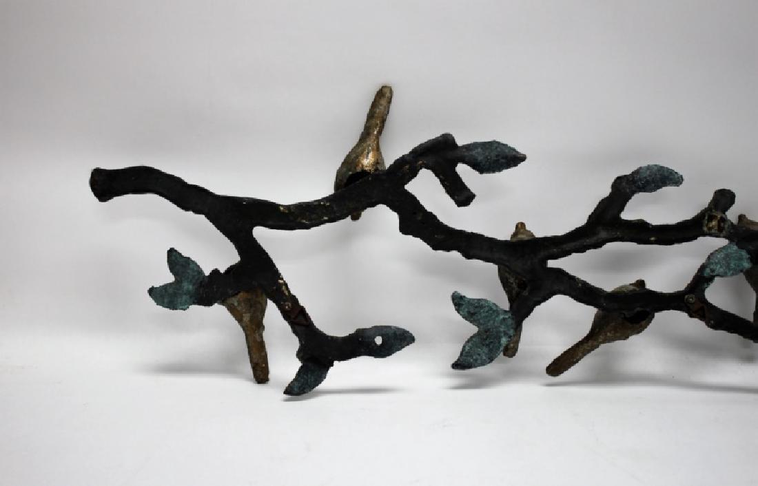 Brutalist Metal Bird Wall Hanging Attr. Ilana Goor - 10