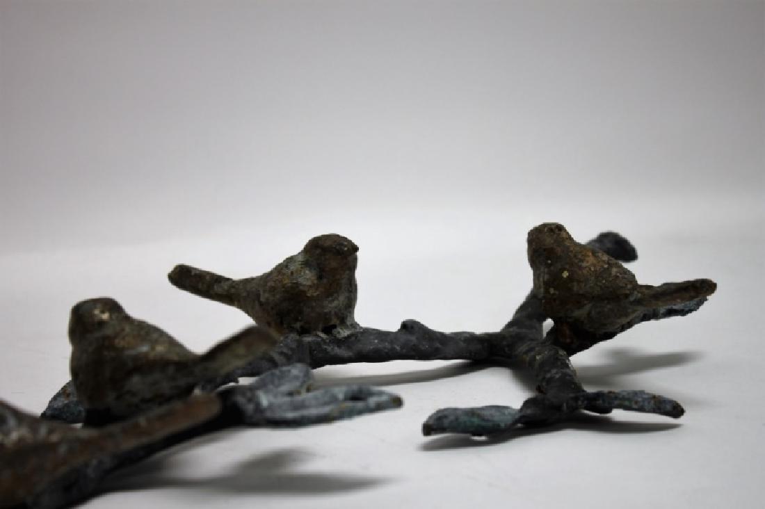 Brutalist Metal Bird Wall Hanging Attr. Ilana Goor - 6