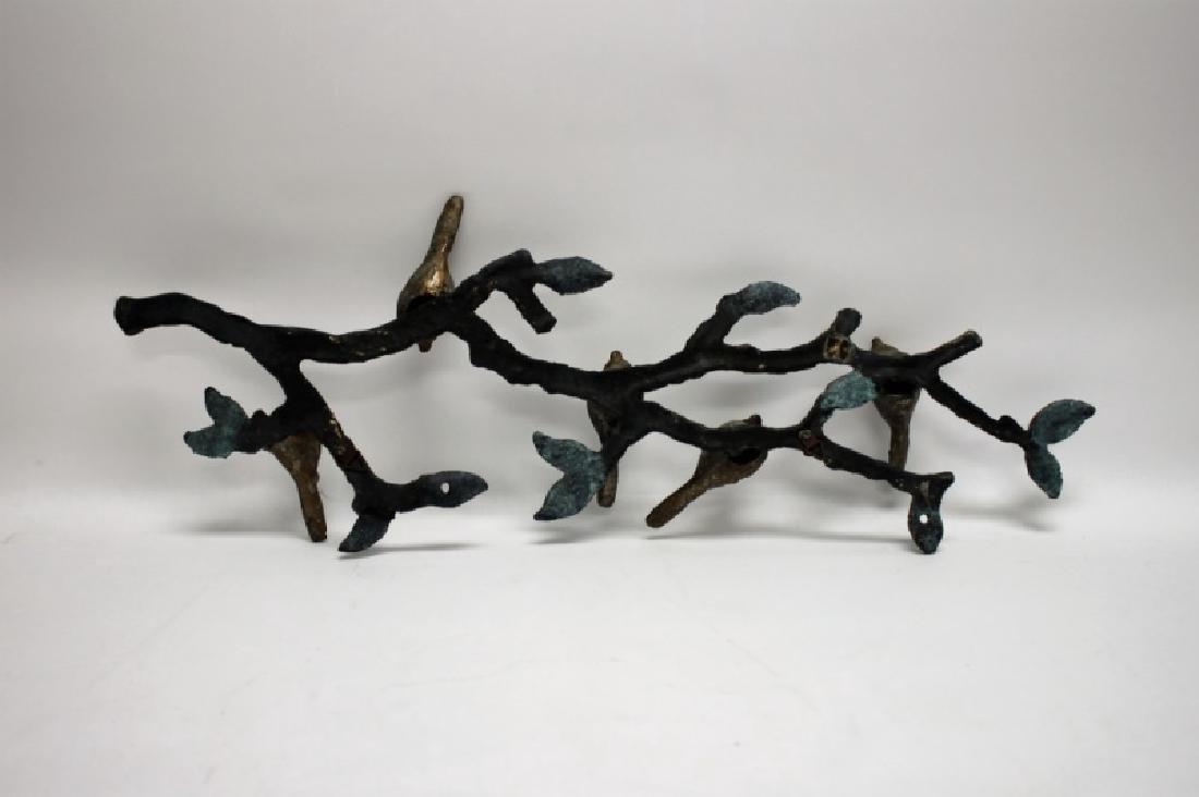 Brutalist Metal Bird Wall Hanging Attr. Ilana Goor - 8