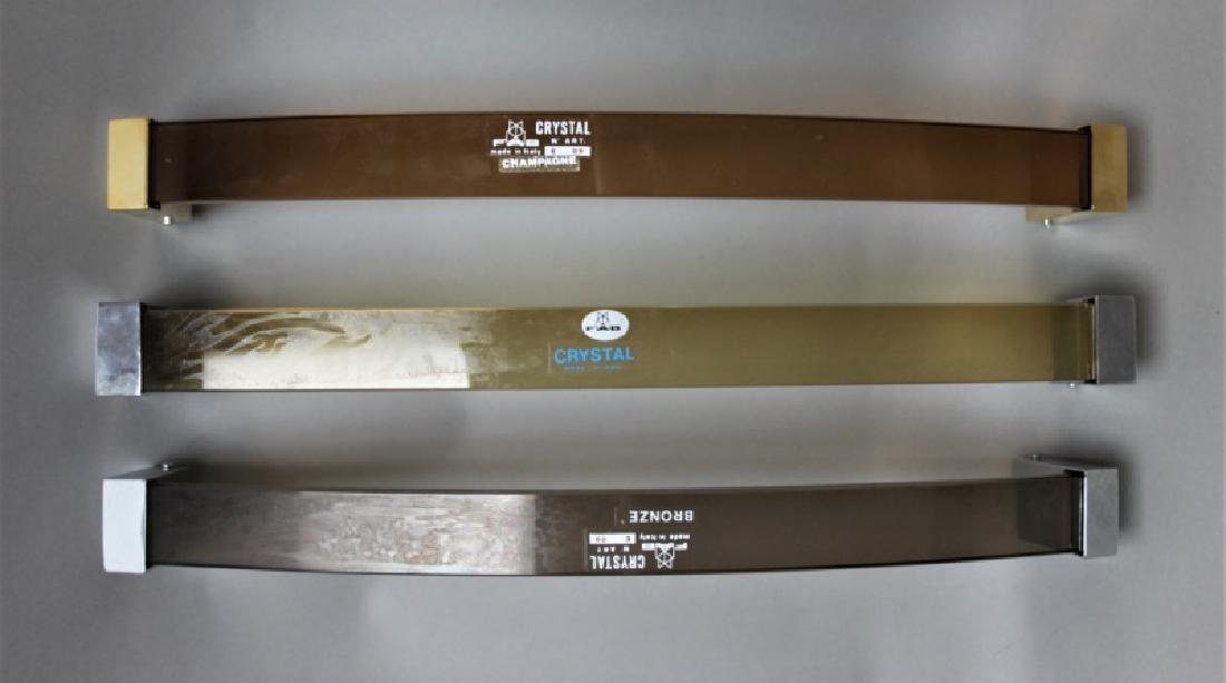 (9) Vintage Unused MCM Fontana Arte Towel Bars - 3