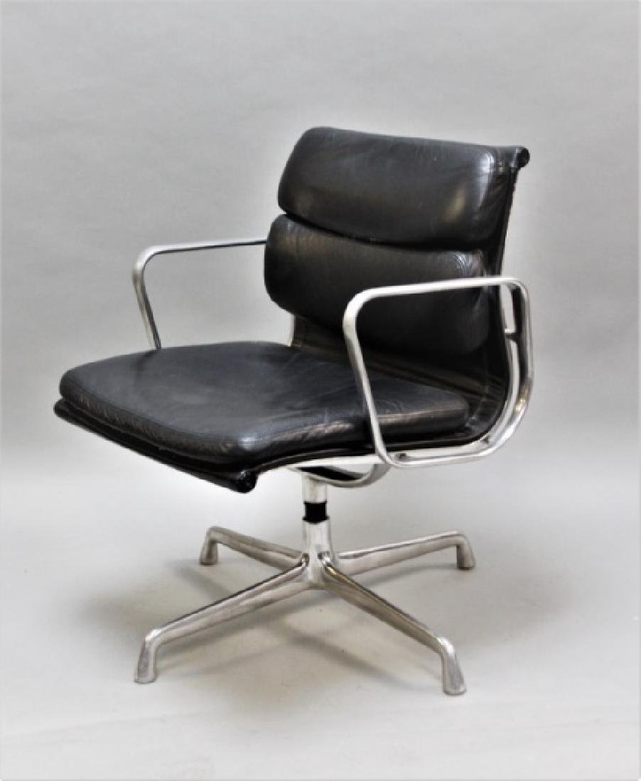"Eames ""Soft Pad"" Chair by Herman Miller USA"