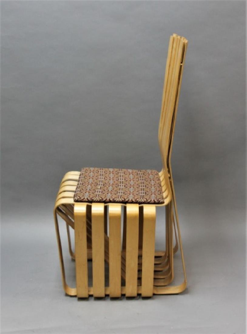 """MCM Frank Gehry Knoll Signed """"Highstick"""" Chair"""" - 3"""