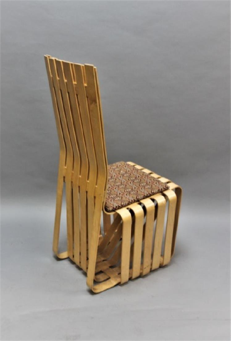 """MCM Frank Gehry Knoll Signed """"Highstick"""" Chair"""" - 5"""