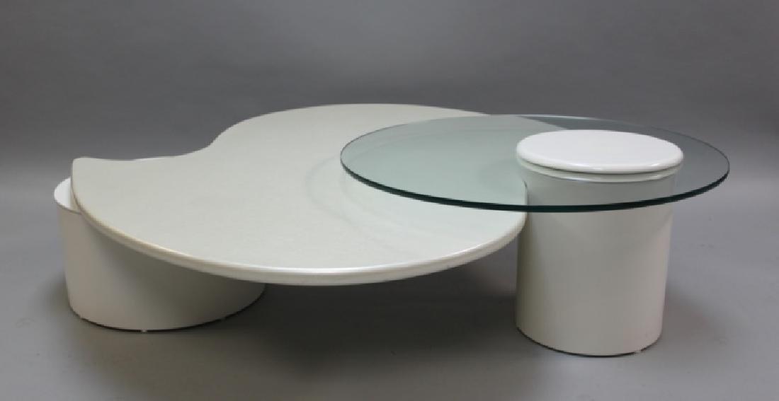 Rougier (Canada) Amoeba Form Coffee Table