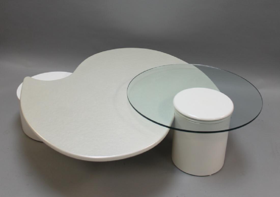 Rougier (Canada) Amoeba Form Coffee Table - 4