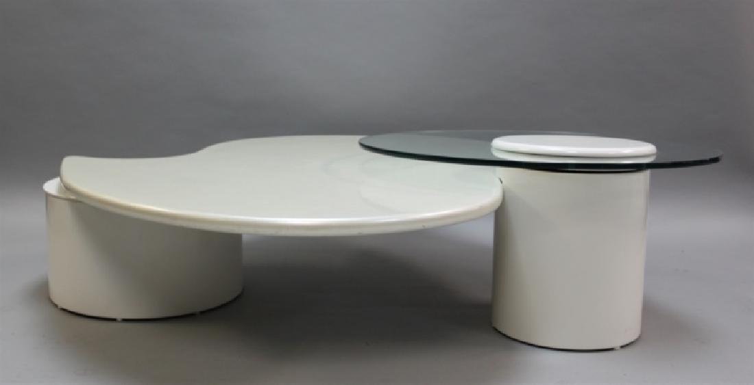 Rougier (Canada) Amoeba Form Coffee Table - 5