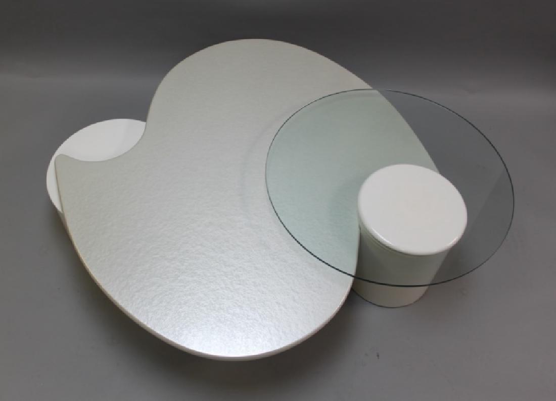 Rougier (Canada) Amoeba Form Coffee Table - 6